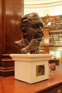 Ken Dodd statue Picton Reading Room Shakeshaft exhibition