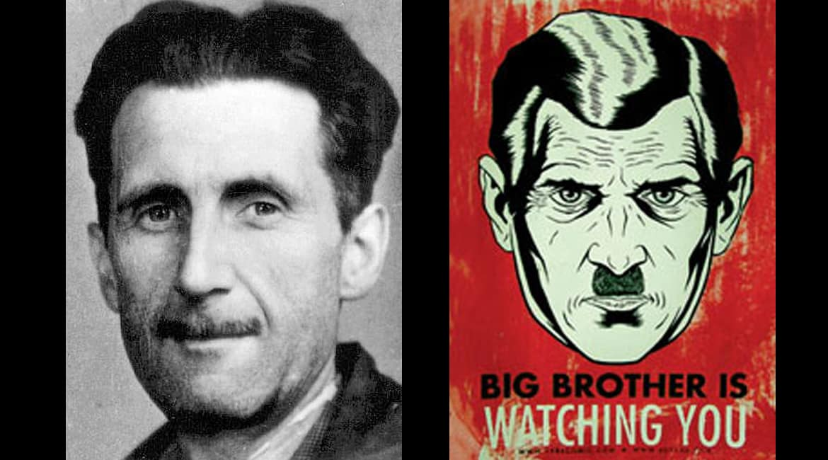 1984 Big Brother Face