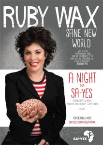 ruby wax sane new world mindful