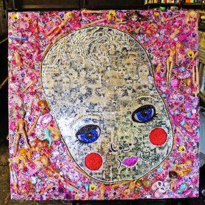 Tiny Tears desolate glamour art Ben Youdan
